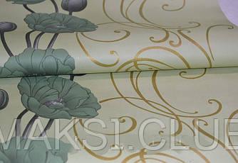Обои на стену, орхидеи, бумажные, 049-06, 0,53*10м