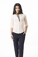 Классическая блуза ПЕРСИКОВАЯ, фото 1