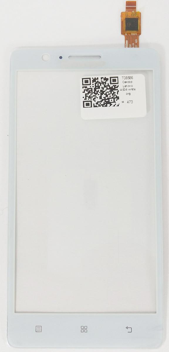 Сенсор LENOVO A536 white (оригинал), тач скрин для телефона смартфона