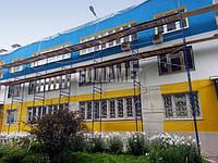 Утепление фасада здания, дома