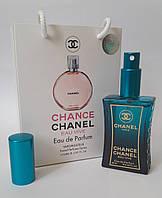 Мини парфюм Chanel Chance Eau Vive в подарочной упаковке 50 мл