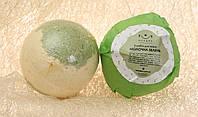 Бомба для ванн «Молочная зелень»  Младна