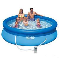 Надувной бассейн Intex 28123. Семейный Easy Set 305 х 76 см