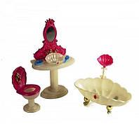 "Мебель для куклы ""Ванная комната принцессы"" Gloria 1213"