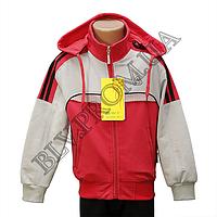 """Трикотажный подростковый спортивный костюм  """"унисекс""""  FZ1416P, фото 1"""