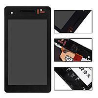 Дисплей (LCD) Sony LT25i Xperia V с сенсором черный + рамка