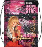 "Сумка для обуви с карманом ""Hannah Montana"" HM11-011K, ТМ ""Kite"""