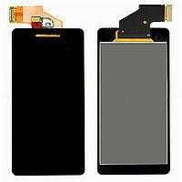 Дисплей (LCD) Sony LT25i Xperia V с сенсором черный
