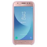Чехол накладка для сматфона samsung j3 2017 /j330 dual layer cover Розовый (ef-pj330cpegru)