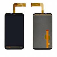 Дисплей (экран) для HTC S710e Incredible S G11 + с сенсором (тачскрином) черный Оригинал