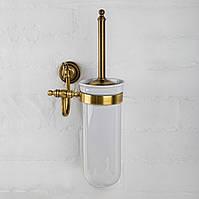 Ершик для туалета керамика ( Versace ), бронза V 011k