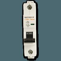Автоматический выключатель Gunsan 1C 10А  6КА  230/400V