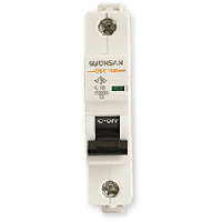 Автоматический выключатель Gunsan 1C 16А  6КА  230/400V