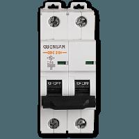 Автоматический выключатель Gunsan 2C 25А  6КА  230/400V