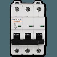 Автоматический выключатель Gunsan 3C 63А  4,5КА  400V