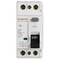 Устройство защитного отключения Gunsan 1Р+N  25А  300МА   230V
