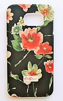 Чехол на Самсунг Galaxy S6 G920F Cath Kidston стильный Пластик Маки