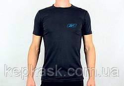 Футболка Reebok-2 black-blue