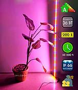 Светодиодный светильник для растений, 36Вт, 100 см