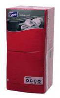 Tork салфетки 33*33 красные 3 слоя, 250 шт., Австрия, распродажа