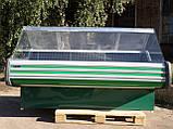 Гастрономічний прилавок Технохолод 2 м. б, холодильна вітрина б/у, фото 3