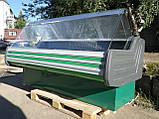 Гастрономічний прилавок Технохолод 2 м. б, холодильна вітрина б/у, фото 2