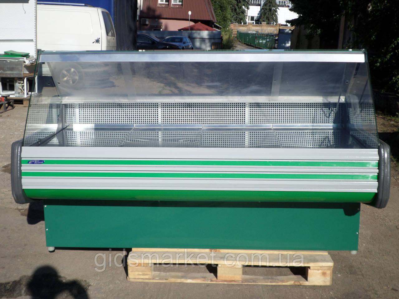 Гастрономічний прилавок Технохолод 2 м. б, холодильна вітрина б/у