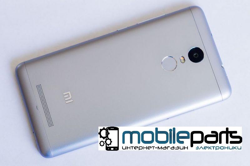 Оригинальная задняя панель (крышка) для Xiaomi RedMi Note 3 (Серая)