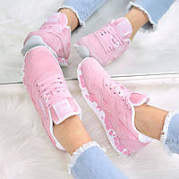 Кроссовки женские Reebok Classic розовый 3519, спортивная обувь