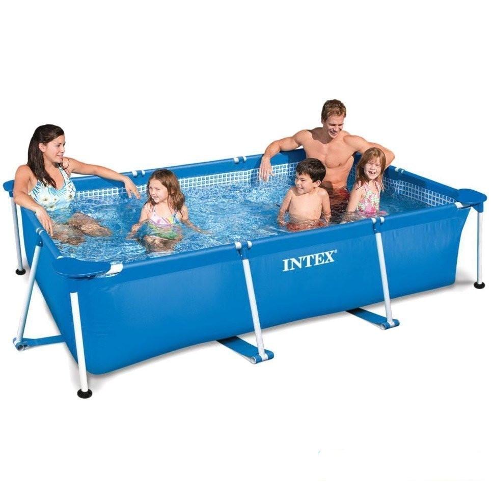 Каркасный бассейн Intex Сборный Small Frame 300х200х75 см Басейн прямоугольный