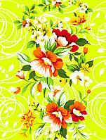 Ткань полотенечная вафельная набивная арт.123249 (ЗИН) 1225 40СМ