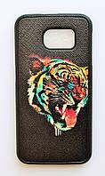 Чехол на Самсунг Galaxy S6 G920F My Color Силикон Тигр, фото 1