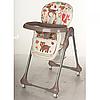 Детский стульчик M 3234-2 для кормления бежевый