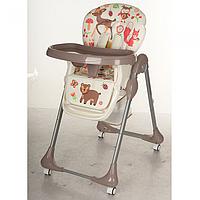 Детский стульчик M 3234-2 для кормления бежевый, фото 1
