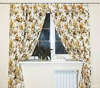 Комплект штор Прованс из водоотталкивающей ткани Bella Beige, арт. MG-140004