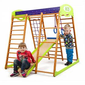 Дитячий спортивний комплекс для квартири «Карамелька міні»