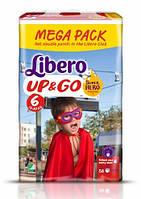 Трусики Libero Up&Go 6 XL (13-20 кг) 58 шт