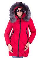 Зимняя куртка FoxQueen 6118 (S-2XL) красный