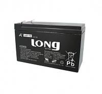 Аккумуляторная батарея 12В 7Ач гелевый Long LG7-12
