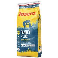 Корм для щенков, беременных и кормящих собак Josera (Йозера) Family Plus 4кг