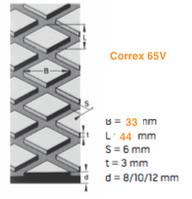 Футеровочная резина CORREX -Q65/V