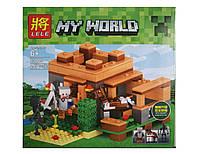 """Конструктор Lele 33005 Minecraft """"Домик фермера"""" 253 деталей"""
