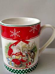 """Кружка с новогодним рисунком """"Дед Мороз"""""""