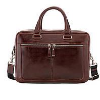 Деловой портфель-сумка Issa Hara B23 из гладкой кожи