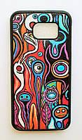 Чехол на Самсунг Galaxy S6 G920F My Color Силикон Абстракция, фото 1