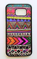 Чехол на Самсунг Galaxy S6 G920F My Color Силикон Орнамент, фото 1