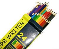 Карандаши цветные 24 цвета, Marco, Superb Writer, 4100-24CB, 245148