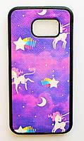 Чехол на Самсунг Galaxy S6 G920F My Color Силикон Единороги, фото 1