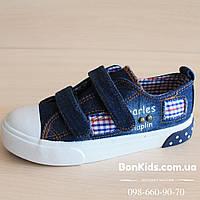 Детские джинсовые кеды на мальчика фирма TOM.MIKI р.26,27,28,29,30