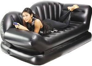 Надувной диван-софа Air Lounge Comfort Sofa Bed, фото 3